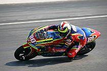 Hector Barbera op de 250 cc Aprilia (2007)