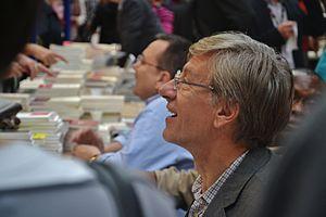 Français : Jean-Christophe Rufin à la 30e Foir...