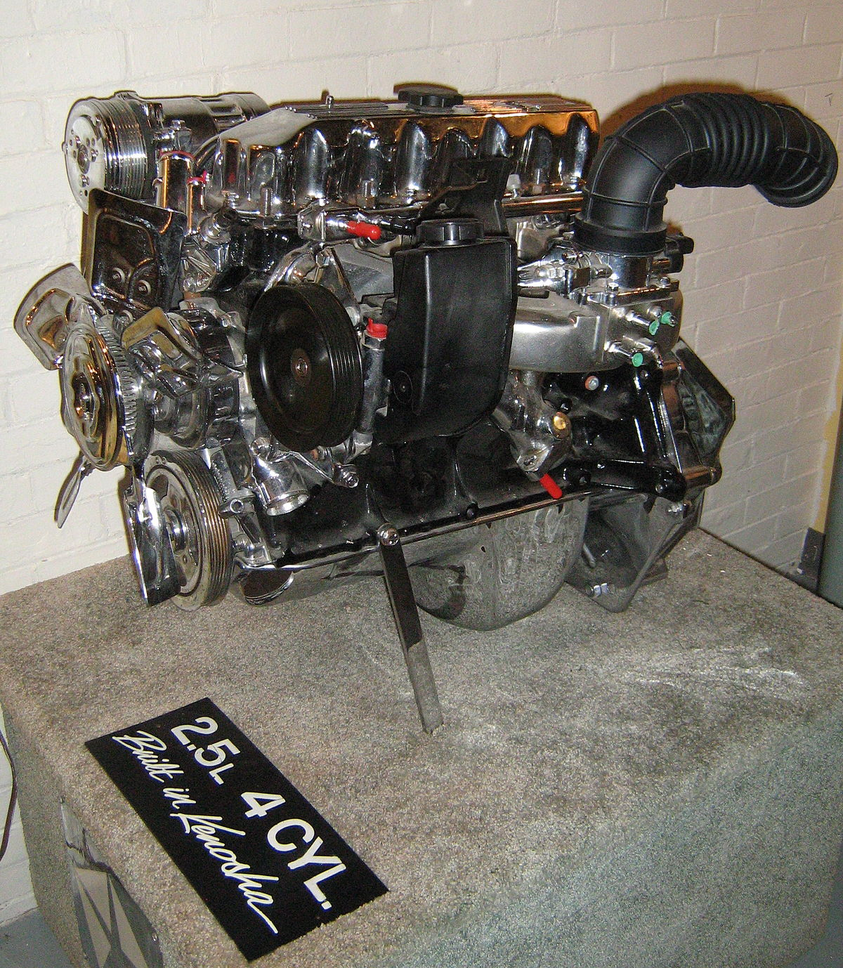hight resolution of amc straight 4 engine wikipedia rh en wikipedia org chevy 4 3 v6 engine diagram chevy v6