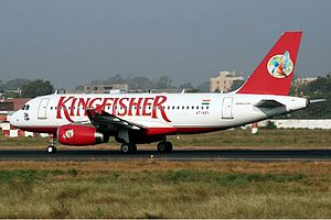 Kingfisher Airlines Airbus A319