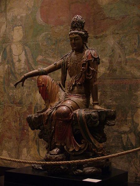 File:Liao Dynasty - Guan Yin statue.jpg
