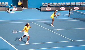 Melbourne Australian Open 2010 Venus and Seren...