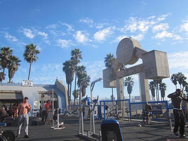 File Muscle Beach California Jpg Wikimedia Commons