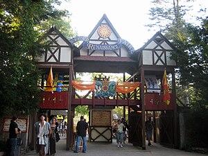English: Entry gate to the New York Renaissanc...