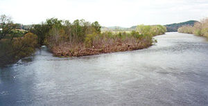 English: The North Fork of the Holston River n...
