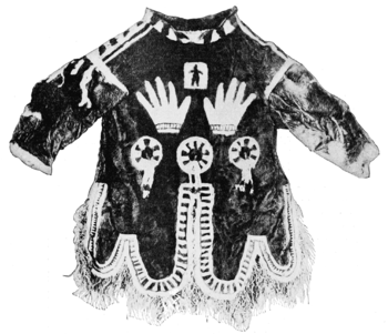 English: Shamanistic coat of Inuit
