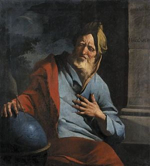 Weeping Heraclitus.