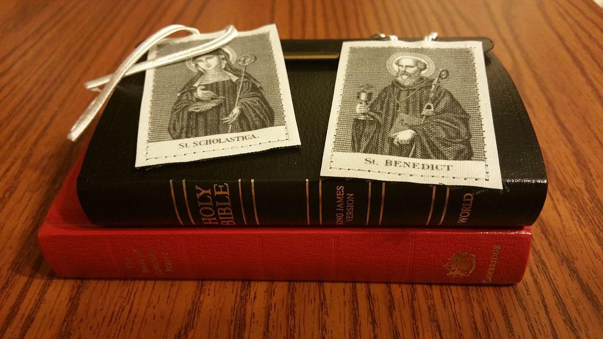 Scapular of St Benedict  Wikipedia