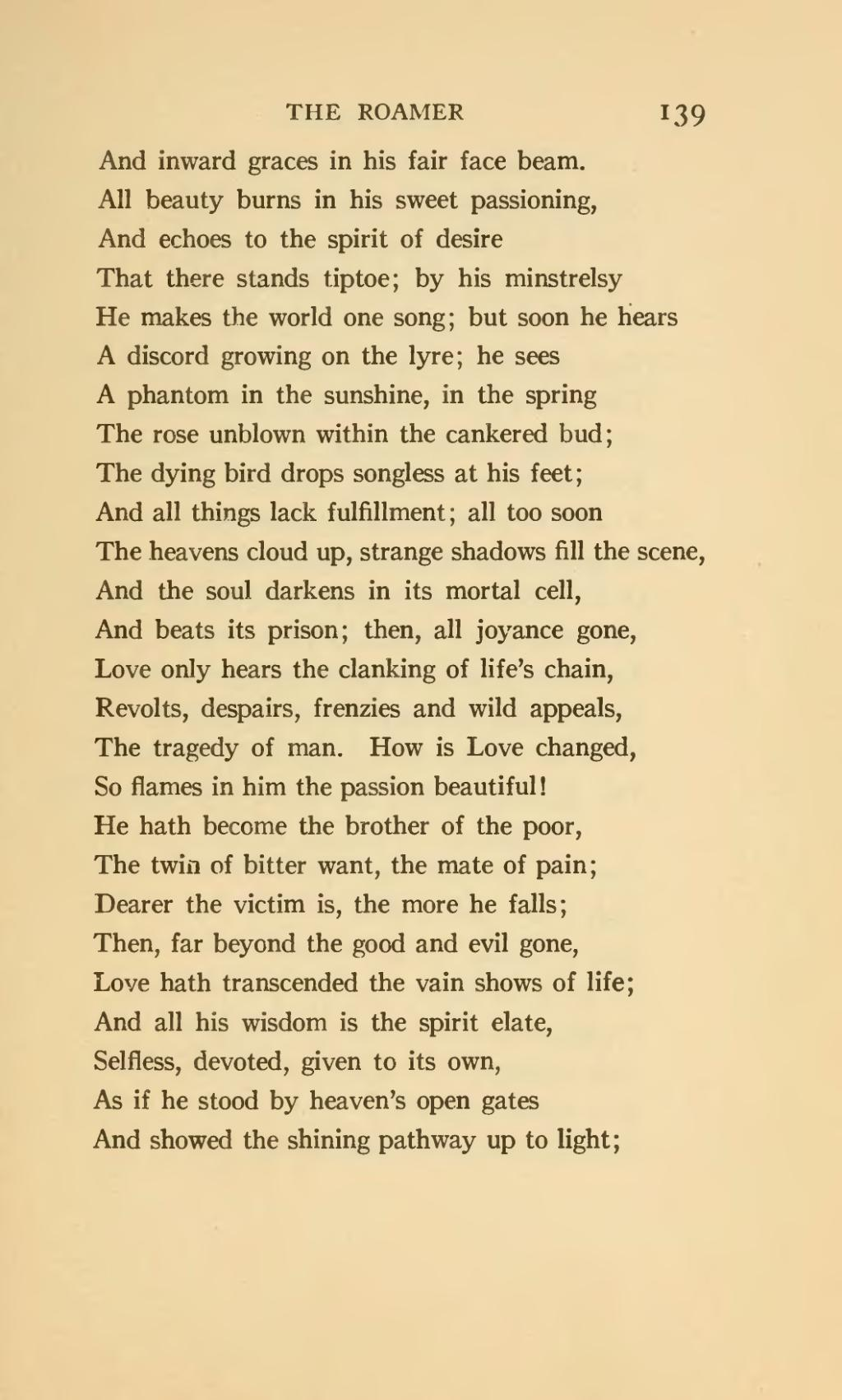 Page The Roamer And Other Poems 1920 Djvu 149