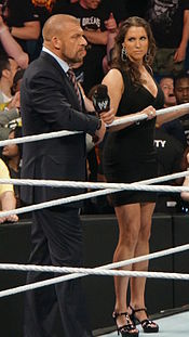 175px Triple H and Stephanie McMahon 2014 - world wrestling federation