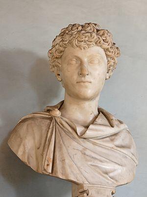 Emperor Marcus Aurelius as a boy. ...
