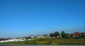 Вид на нижнюю окраину села