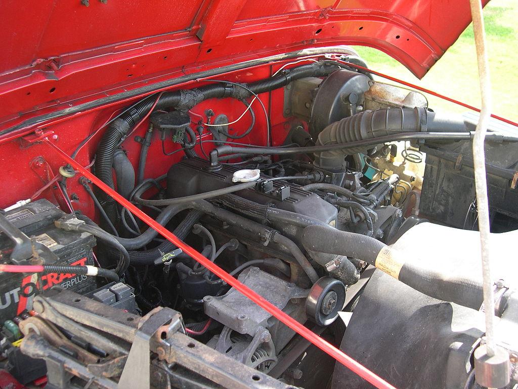 1954 F100 Wiring Harness Diy File 1992 Jeep Yj Amc I4 Engine Jpg Wikimedia Commons