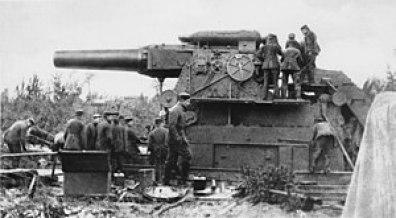 Krupp Gamma Mörser, Top Ten Biggest Guns Ever Made In History