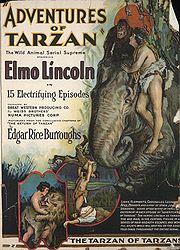 Adventures of Tarzan con Elmo Lincoln, 1921