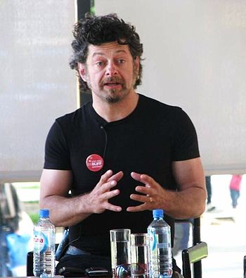 English: English actor Andy Serkis Italiano: A...