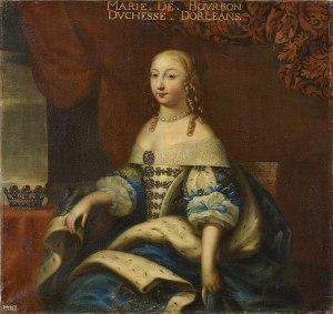 Beaubrun, workshop of - Marie de Bourbon, Duchess of Montpensier - Versailles.jpg