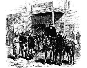 Carson City, Nevada in 1877