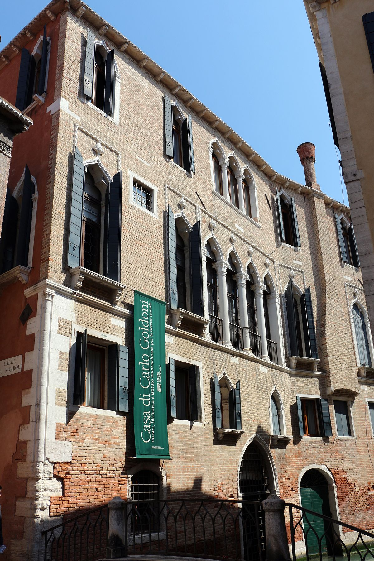 Casa di Carlo Goldoni  Wikipedia