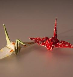 3d origami fox diagram [ 1200 x 734 Pixel ]