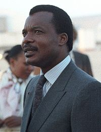 Denis Sassou Nguesso in 1986.
