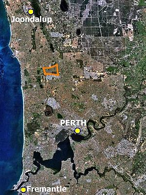 Northern suburbs of Perth, Western Australia f...