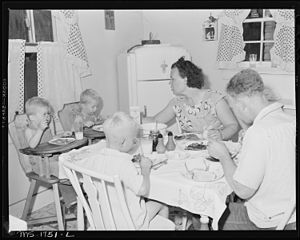James Jasper, motor brakeman, and his family e...