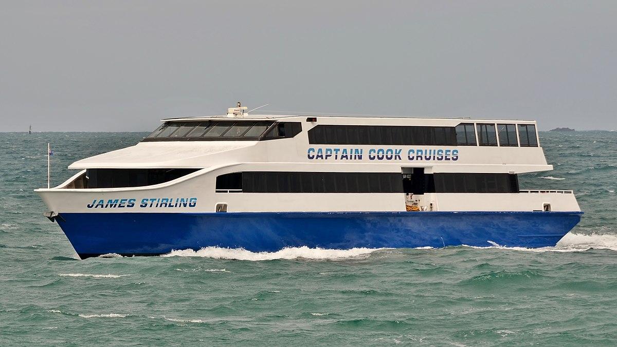 Captain Cook Cruises Western Australia  Wikipedia