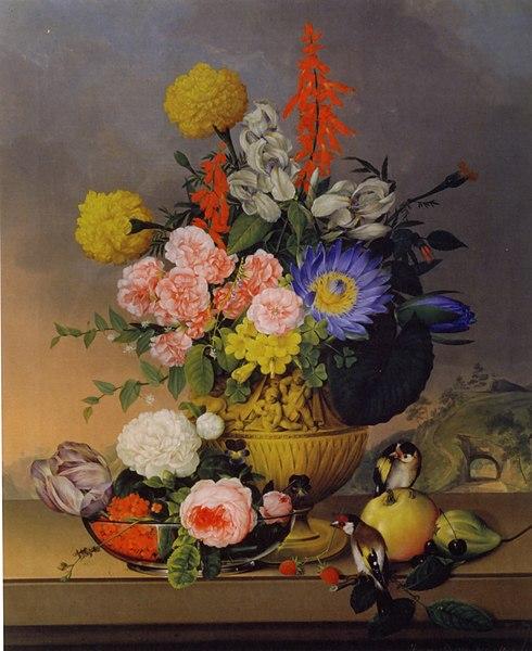 FileJohann Knapp Stilleben mit Blumenstraujpg