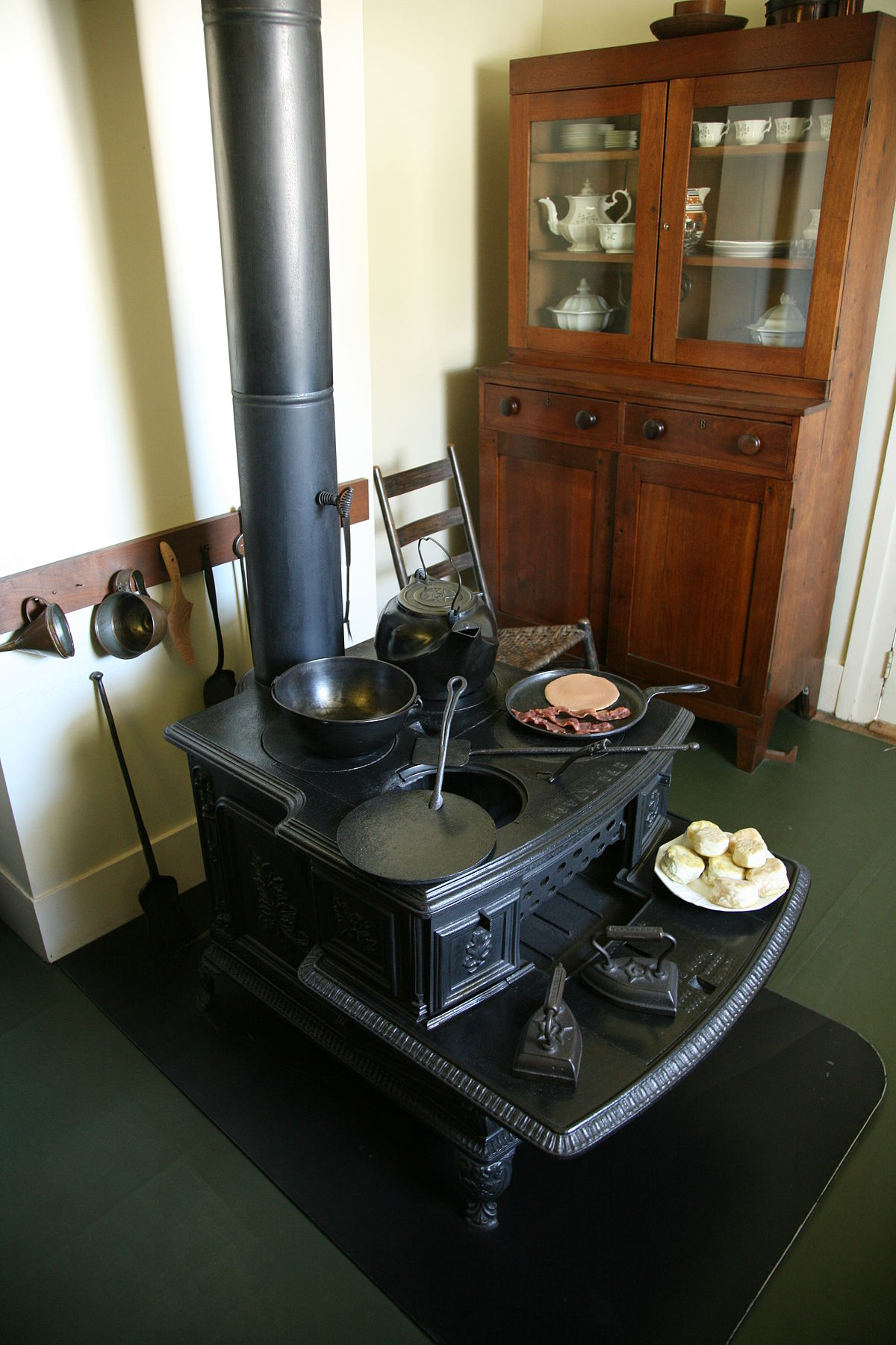 Wood Burning Stove Wikipedia
