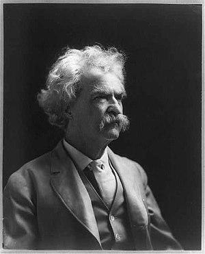 Mark Twain, 1907