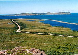 Landscape of Miquelon.