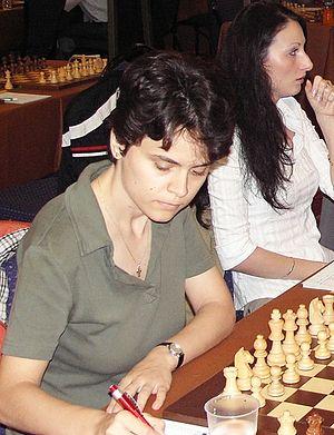 English: WGM Corina-Isabela Peptan (Romania), ...