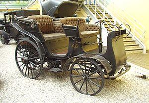 English: Präsident - first car from Kopřivnice...