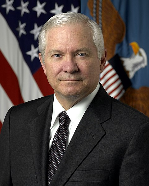 Bestand:Robert Gates, official DoD photo portrait, 2006.jpg
