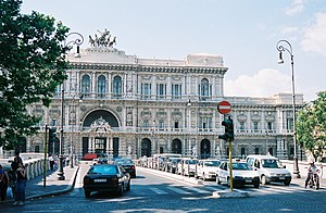 """The Courthouse (dibbed """"Il Palazzaccio, i..."""