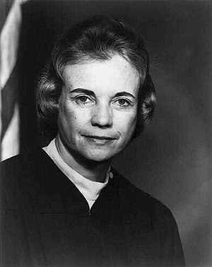 American jurist Sandra Day O'Connor (b. 1930),...