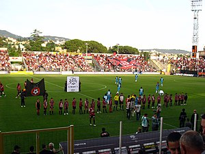 The stade du Ray in Nice, France, just before ...