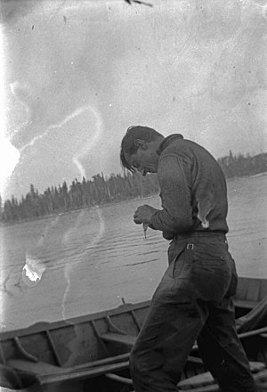 Tom Thomson in Algonquin Provincial Park