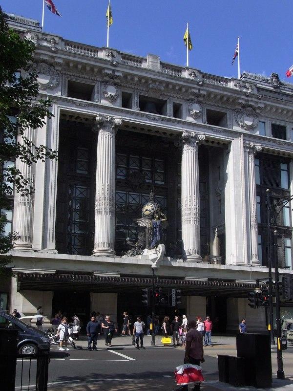 Selfridges Oxford Street London