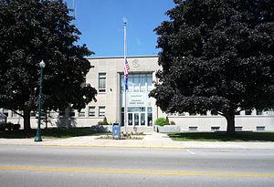 Shawano County Courthouse, Shawano, Wisconsin,...