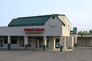 Benjamin Moore retailer, 4573 Washtenaw Ave., ...
