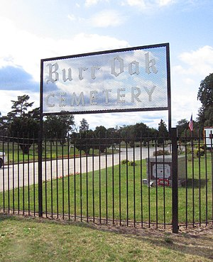 Burr Oak Cemetery Main Entrance 1