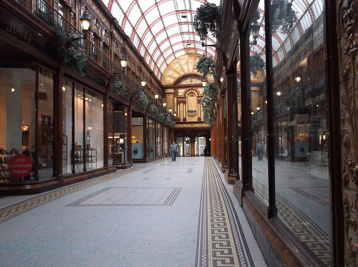 Central Arcade Newcastle upon Tyne  Wikipedia