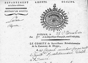 Comite de surveillance revolutionnaire Dieppe ...