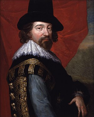 Sir Francis Bacon is often cited as a possible...