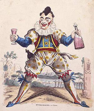 Joseph Grimaldi as Clown Joey