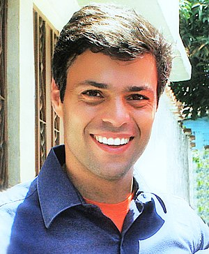 Image of Leopoldo López, venezuelan politician...