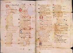Os trovadores medievais escreviam em pergaminhos, como por exemplo o pergaminho Vindel