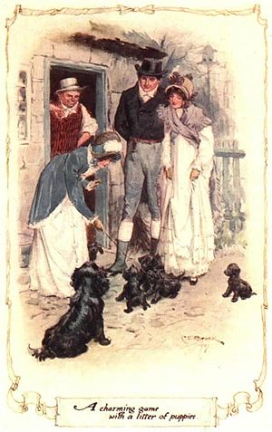 English: Colour illustration of a 1907 edition...